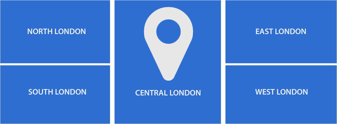 Map Location Graphic for London
